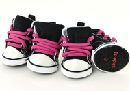 Dog Pink/Black Trainers