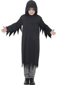 Boys Dark Reaper Fancy Dress Costume