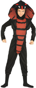 Boys Cobra Ninja Fancy Dress Costume 1