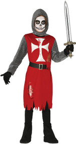 Boys Dead Loyal Knight Fancy Dress Costume