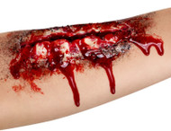 Open Wound Latex Scar Fancy Dress Accessory