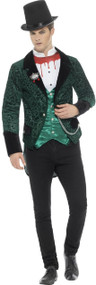Men's Deluxe Victorian Vamp Fancy Dress Costume