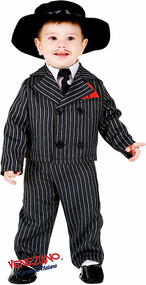 Baby 1920s Gangster Fancy Dress Costume
