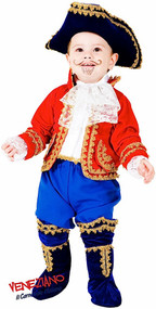 Baby Pirate Captain Fancy Dress Costume