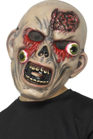 Boys Bulging Eye Zombie Fancy Dress Mask