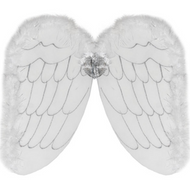 Childrens Angel Fancy Dress Wings