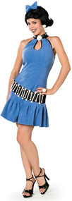Ladies Betty Rubble Fancy Dress Costume