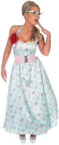 Ladies 1950s Fancy Dress Costume