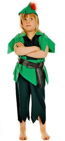 Boys Peter Pan Fancy Dress Costume