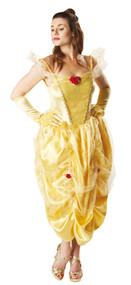 Ladies Disney Belle Beauty Fancy Dress Costume