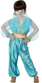 Girls Arabian Princess Fancy Dress Costume