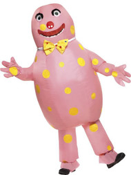 Adult Mr Blobby Fancy Dress Costume