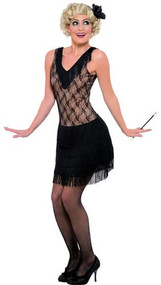 Ladies All That Jazz Fancy Dress Costume