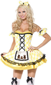 Ladies Sexy Goldilocks Fancy Dress Costume