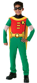 Boys Robin Fancy Dress Costume