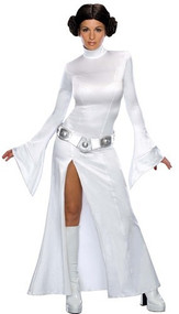Ladies Sexy Princess Leia Fancy Dress Costume