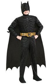 Boys Batman Dark Knight Fancy Dress Costume