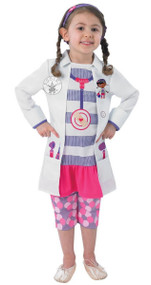 Girls Doc McStuffins Fancy Dress Costume