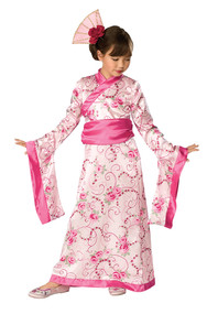 Girls Oriental Princess Fancy Dress Costume
