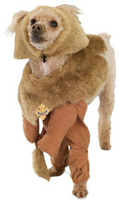Dog Cowardly Lion Fancy Dress Costume