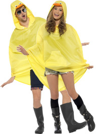 Unisex Duck Festival Poncho