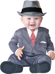 Baby Gangster Fancy Dress Costume