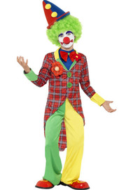 Child's Funtime Clown Fancy Dress Costume