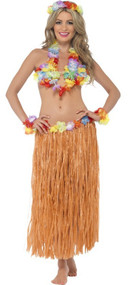 Ladies Instant Hula Honey Fancy Dress Kit