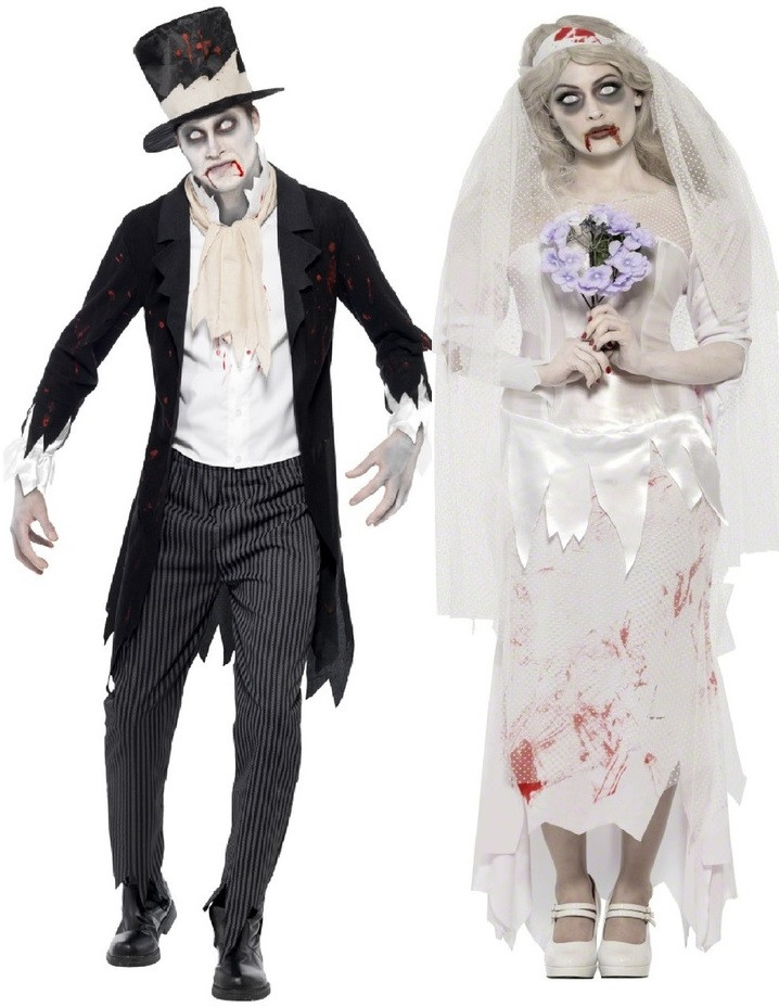 Couples Zombie Bride