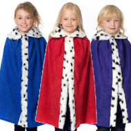Child's King or Queen Fancy Dress Cloak
