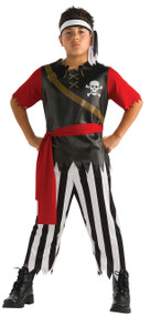 Boys Pirate King Fancy Dress Costume