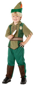 Boys Disney Peter Pan Fancy Dress Costume