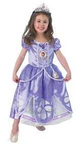 Girls Deluxe Sofia the First Fancy Dress Costume