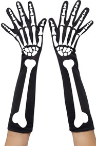 Ladies Skeleton Gloves