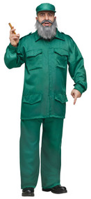 Mens Fidel Castro Fancy Dress Costume