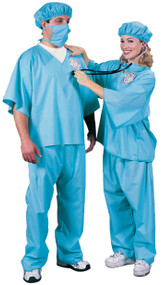 Adult Doctor Fancy Dress Costume