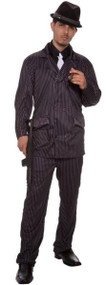 Mens Gangster Fancy Dress Costume 4