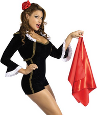 Ladies Sexy Matador Fancy Dress Costume