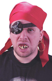 Mens Pirate Fancy Dress Accessory Kit