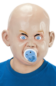 Adult Baby Full Face Mask with Dummy