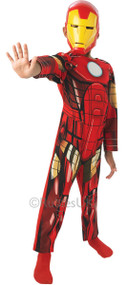 Boys Classic Iron Man Fancy Dress Costume