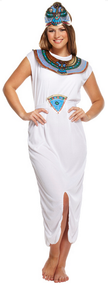 Ladies Cleopatra Fancy Dress Costume 4