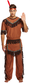 Mens Indian Fancy Dress Costume