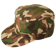 Adult Army Fancy Dress Cap