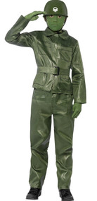 Boys Toy Soldier Fancy Dress Costume
