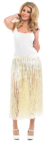 Ladies Hawaiian Natural Grass Skirt