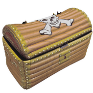 Inflatable Pirate Chest Party Prop