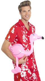 Inflatable Pink Flamingo Party Prop
