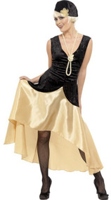 Ladies 1920s Gatsby Girl Fancy Dress Costume