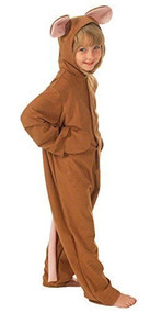 Child's Brown Mouse Fancy Dress Costume